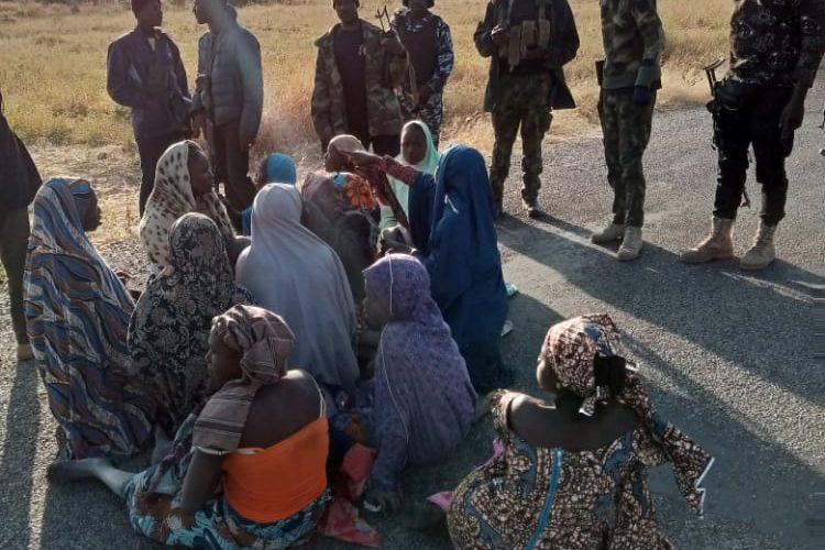 OPERATION HADARIN DAJI: Troops Rescue 23 kidnapped Victims, Arrest Bandits' Informant In Katsina State.