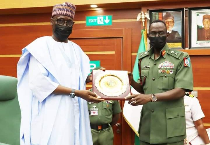 CDS PLEDGES ARMED FORCES SUPPORT TO NNPC.