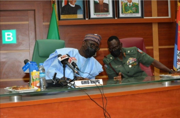 CDS Pledges Military Support for Protection of Oil, Gas Asset As NNPC Loses 200k Barrels of Oil Daily.