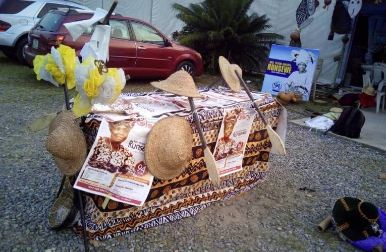 Craft entrepreneurship On Showcase At Runsewe's Mother Home Call.
