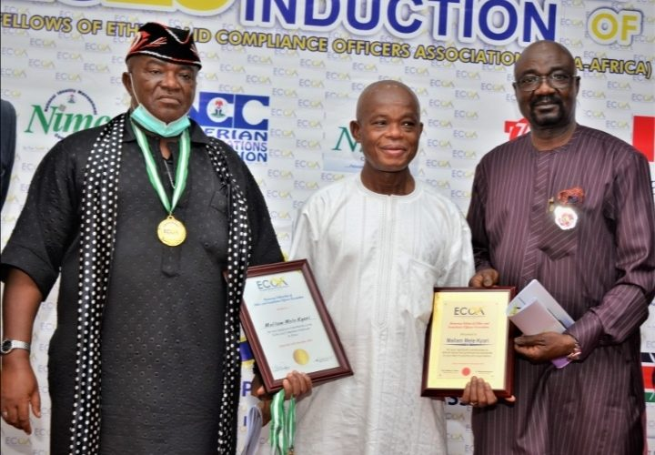 Kyari Restates Commitment To Transparency, Bags Ethics & Compliance Award.