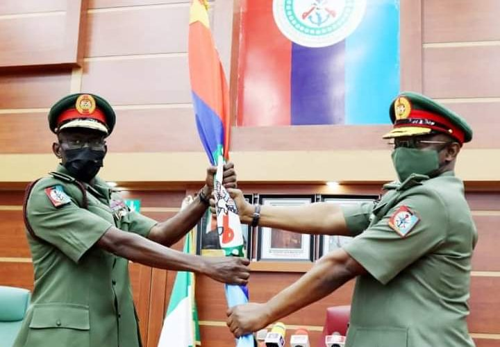 MAJOR GENERAL IRABOR TAKESOVER AS CHIEF OF DEFENCE STAFF, PLEDGES RIGHT LEADERSHIP.