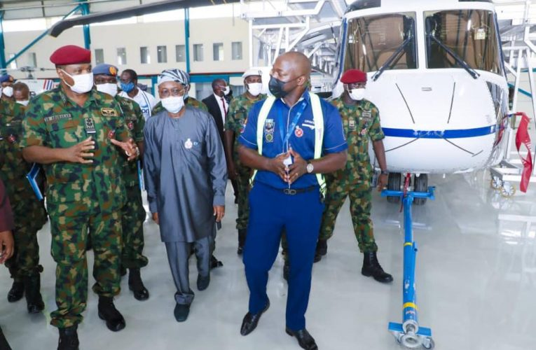 Local Content Development: NAF Partners Caverton Helicopters For Local Maintenance Of It's Aircraft, Capacity Development Of Personnel.