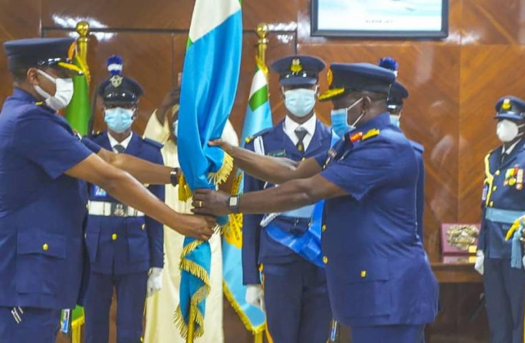 AVM OLadayo Amao Takes Over As 21st CAS, Assures Nigerians Of Commitment To Internal Security.