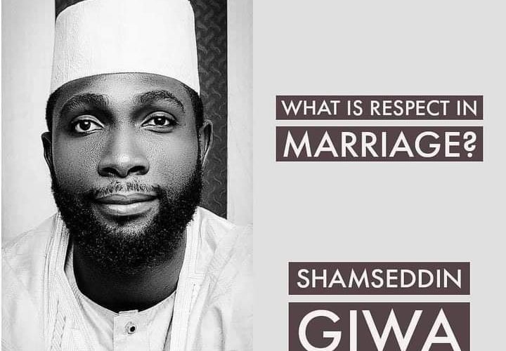 What is respect in marriage?
