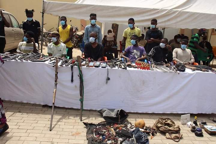 Operation Puff Adder II – Police Arrest 48 Notorious Criminal Suspects.