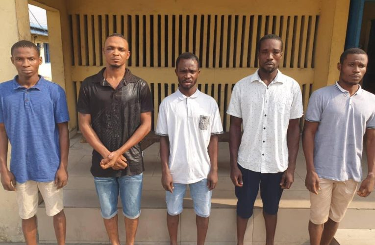 Police Arrest 5 For Multiple Abduction, Car Theft And Abuse Of  Women, 2 Others For Int'l Child Pornography.