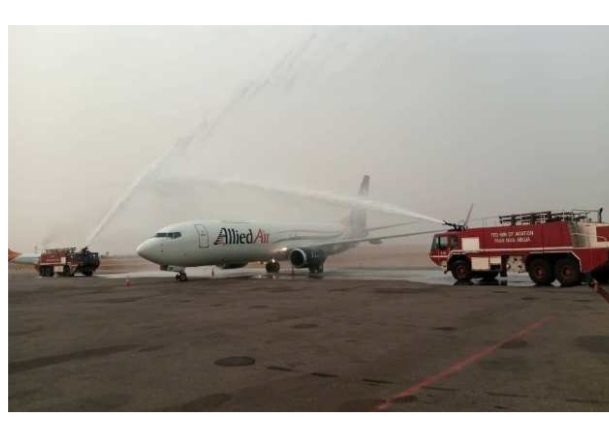 COVID-19: Vaccines Distribution, Minister Receives Allied Air New Aircraft.