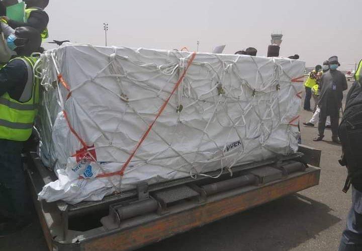 PHOTOS: COVID-19 Vaccines Arrive In Nigeria…