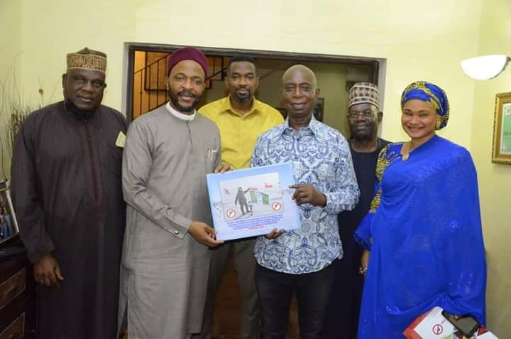 Minister Of State For Education,  Chukwuemeka Nwajiuba Visits Prince Ned Nwoko.