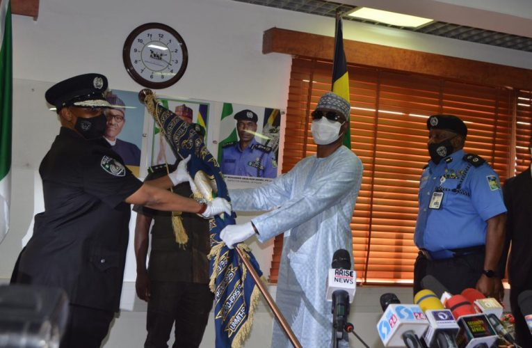 IGP Usman Alkali Baba Assumes Duty As The New Inspector General Of Police.