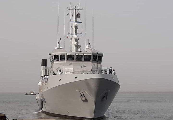 Nigerian Navy's Newest Offshore Survey Vessel, NNS LANA Departs Banjul, Gambia For Tema-Ghana.