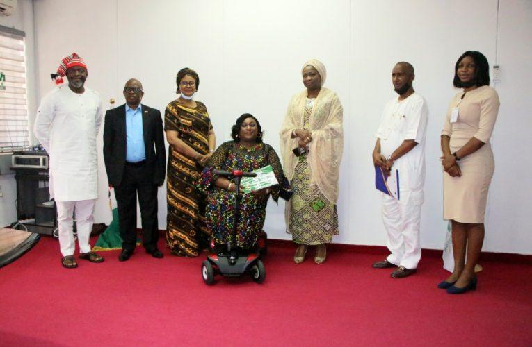 NIDCOM SUPPORTS GALLANT WOMEN ABILITY FOUNDATION, G-WAF.