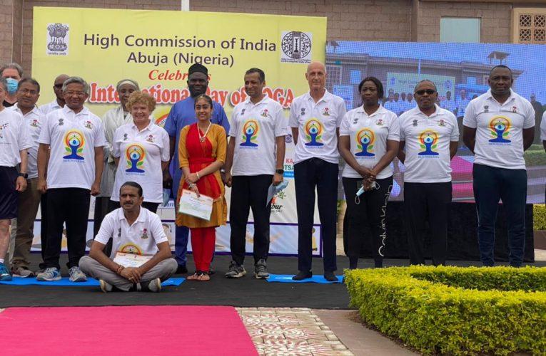 Photo News: Dabiri Erewa Celebrates Indians As Embassy Marks 75th Independence In Nigeria.