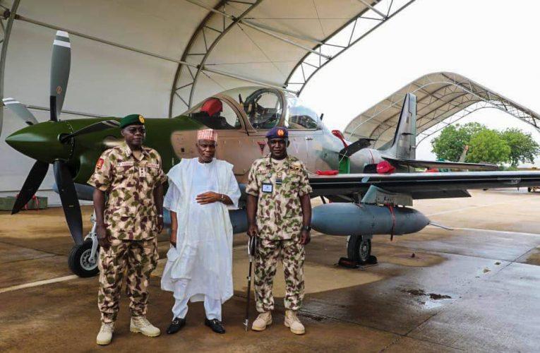 BREAKING: Super Tucano Aircraft Arrives Nigeria- NAF.