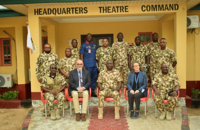 OPERATION HADIN KAI: THEATRE COMMAND AND UNOCHA COLLABORATE TO ENHANCE HUMANITARIAN ACTIVITIES IN NORTH EAST.