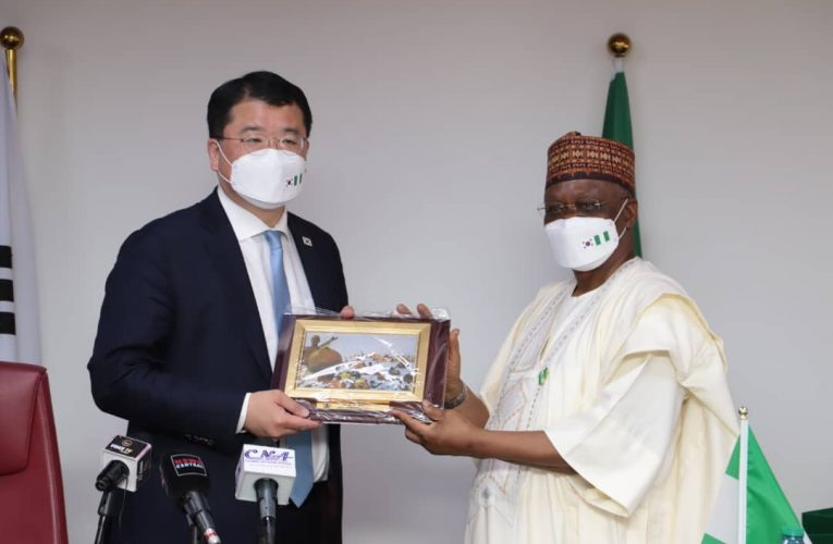 DIPLOMATIC TIES: Ministry Of Foreign Affairs Hosts South Korean 1st Vice MFA Minister.